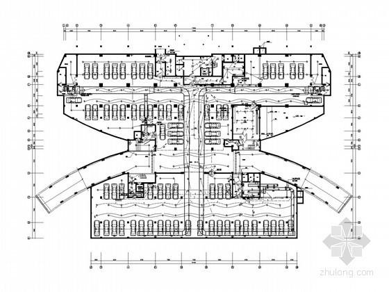 [浙江]综合办公指挥中心强电系统电气施工图纸(含附楼 电气设备预算)