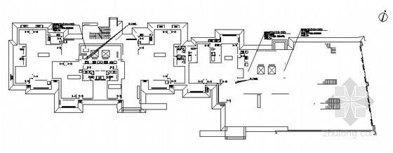 [洛阳]某高层住宅楼分户计量采暖施工设计图纸