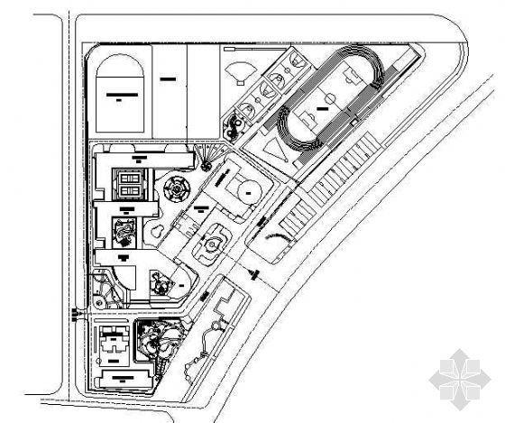小学全套景观环境设计施工图