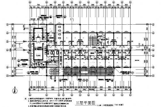 洗浴中心建筑施工图-3