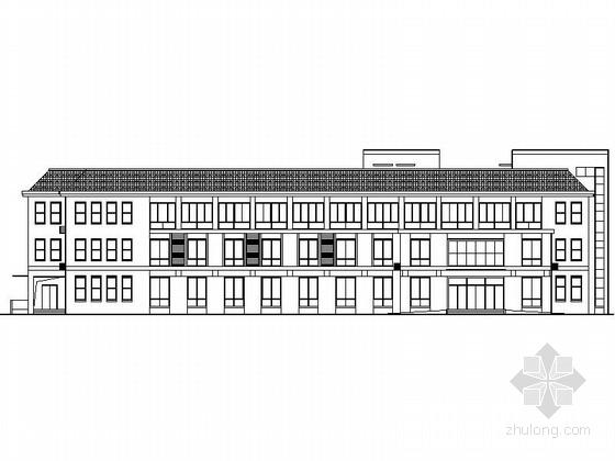 [山东]某社会福利院三层病房建筑施工图