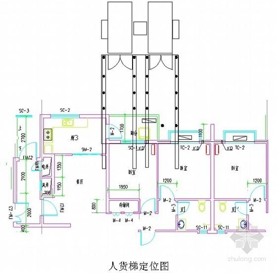 住宅工程人货梯接料平台施工方案(计算书)