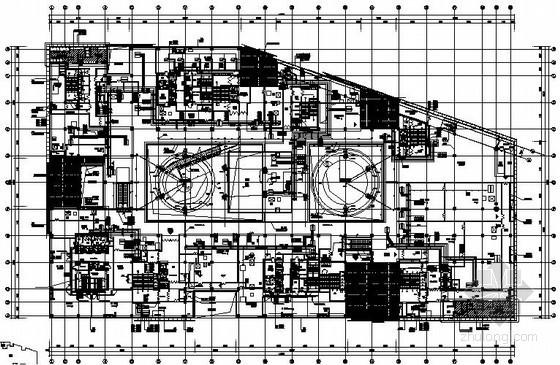 [北京]大型商住楼暖通空调全套施工图(知名设计院)