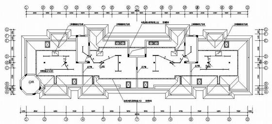 六层住宅建筑电气全套图纸