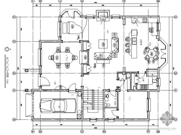 欧式风格别墅装修图II(含效果)