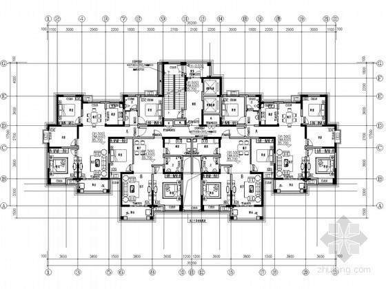[安徽]高层住宅加压送风系统设计施工图