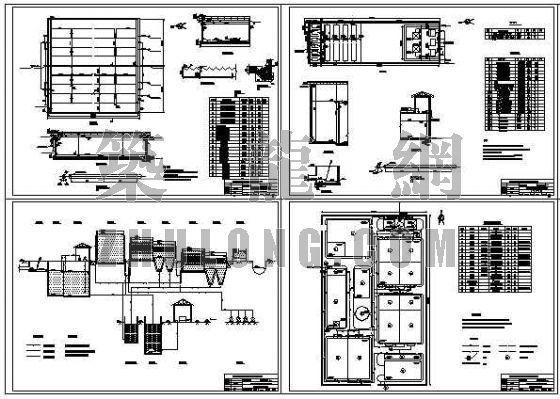 9000吨印染废水处理工程毕业设计图纸