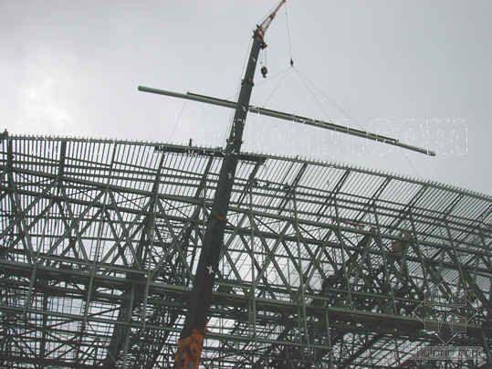 深圳某大学城体育中心场馆工程铝合金屋面系统施工组织设计