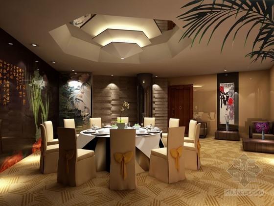 餐厅包厢3D模型下载