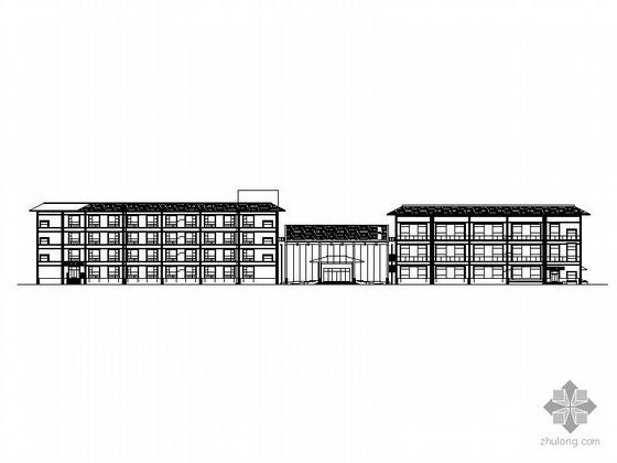 [宜都]某四层花园酒店建筑施工图