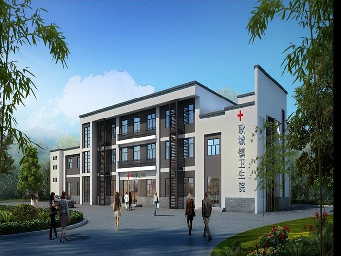 [湖南]9所镇卫生院工程预算审核书(含招标文件及图纸)
