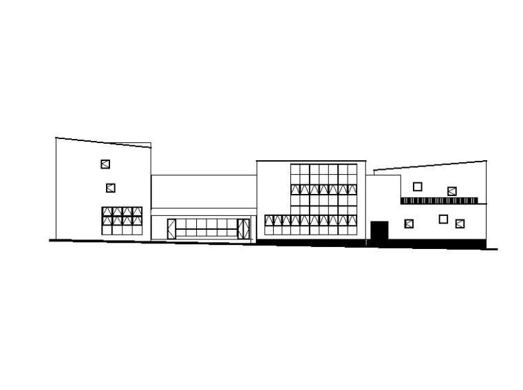 [四川]三层合院形式9班幼儿园建筑施工图