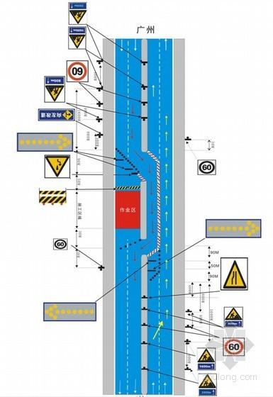茂湛铁路某连续梁施工交通管制方案(2010年 跨高速公路 防护棚搭设)
