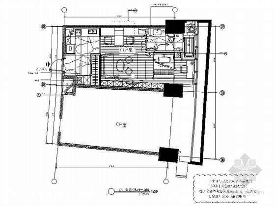[沈阳]精装现代小户型C1型样板房装修图(含效果)