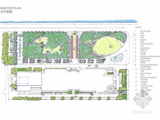 [浙江]生态城市公共绿地初步景观概念性规划