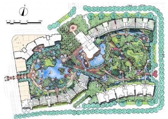 苏州小区景观扩初设计方案