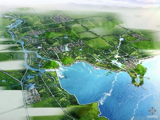 [峡山]某生态经济发展区总体规划设计文本(52张)及说明书