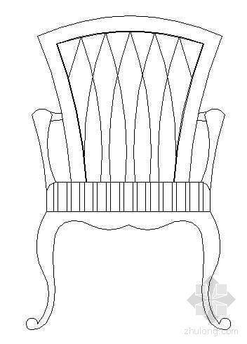 古典座椅图块1