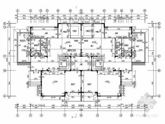 三层剪力墙结构公寓楼结构施工图