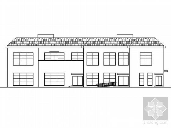 [靖江]某公司食堂建筑施工图
