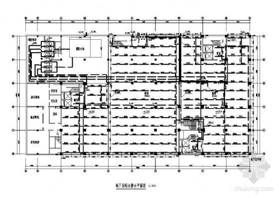 某建筑给排水工程毕业设计平面图