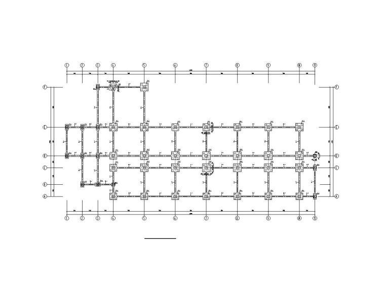 七层框架办公楼毕业设计(建筑图+结构图+计算书)