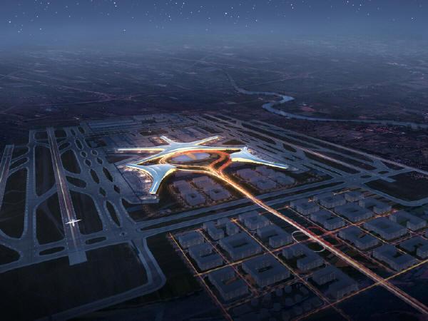 机场概念规划暨航站楼方案报告135页PPT(附效果图三维动画演示)