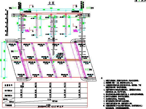 U型桥台锚杆加固资料下载-含拼宽桥分离立交简支转连续板桥改扩建高速公路桥梁工程CAD图纸(27座桥,近千张)