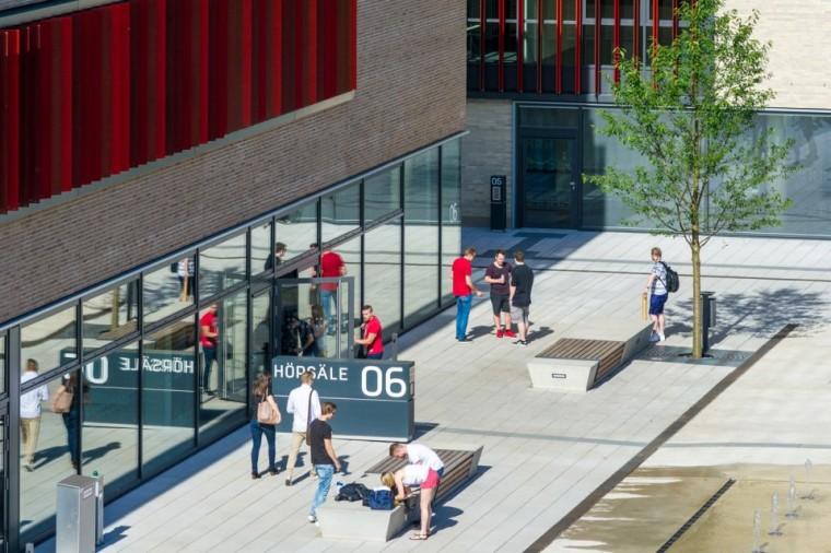 万漪景观分享--德国鲁尔西部大学新园区_6