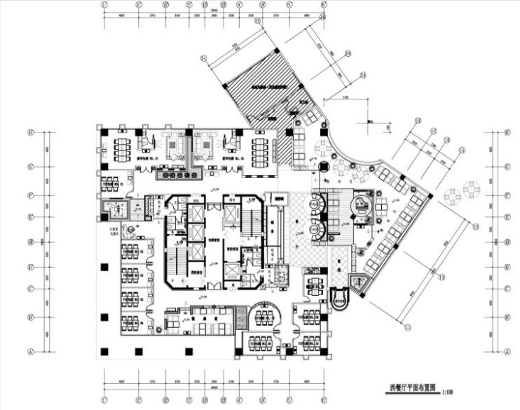 咖啡厅 图纸深度:施工图 项目位置:四川 设计风格:现代风格 图纸格式图片