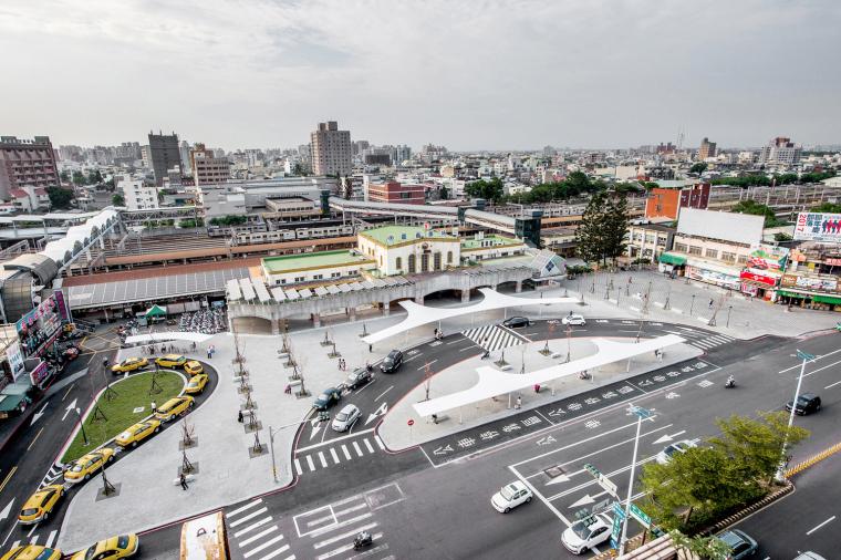 嘉义火车站站前广场再造