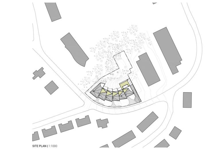 卢森堡山地上的集合住宅-9