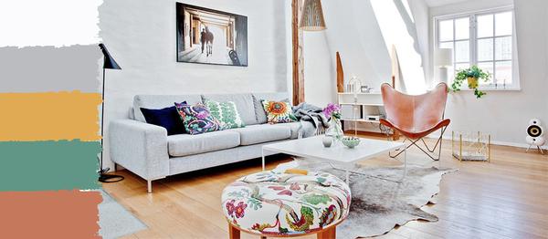 植物花鸟系的北欧风格家居,你不喜欢?