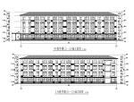 [湖南]U型实验小学教学楼建筑结构全套图