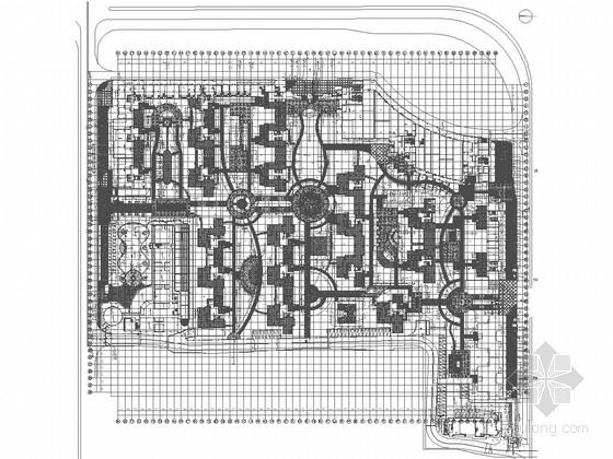 [广东]经济实用型居住区景观设计施工图