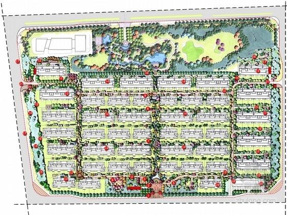 [北京]尊贵风情古典别墅规划设计方案