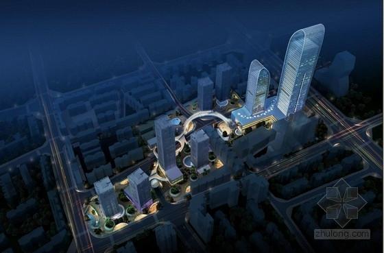 [昆明]超高层现代风格城市综合体改造建筑设计方案文本