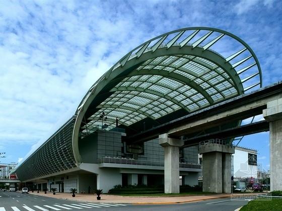 [上海]局部三层城市轨道交通车站结构施工图(含建施、效果图)