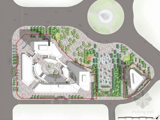[江西]体验式商业新区景观规划设计方案