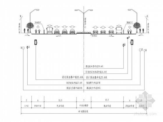 [河南]3.7公里一级市政道路排水施工图