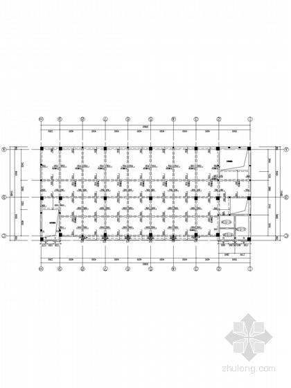五层现浇框架厂房结构施工图