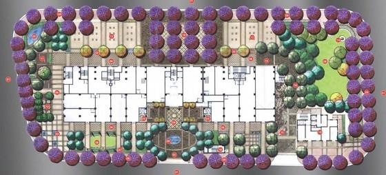 [北京]私家简洁华丽住宅规划设计方案-总平面
