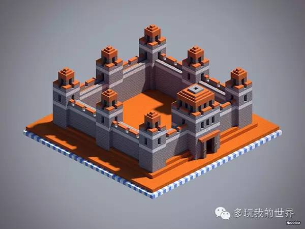 值得学习的建筑技巧设计非常独特的十款城墙_10