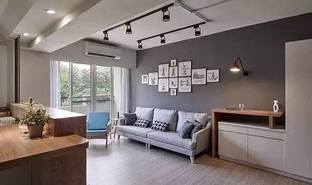 室内装修|客厅太抢眼,电视机竟然还能这样装!_3