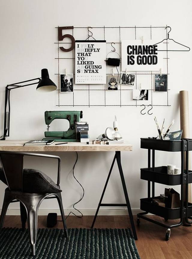 室内设计|N款工作间与书桌,看一眼就为之着迷!_14