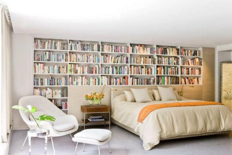 如何在家里挤出一间书房,这4种方案必须收藏!_21