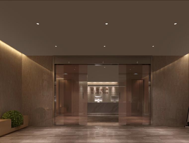 凯隆办公室混搭风格室内设计施工图(含46张图纸)_9