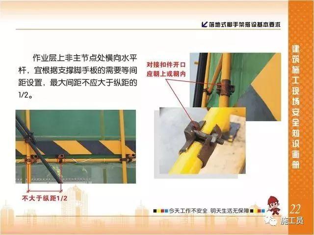 施工现场脚手架搭设标准规范做法画册,收藏有大用!_23