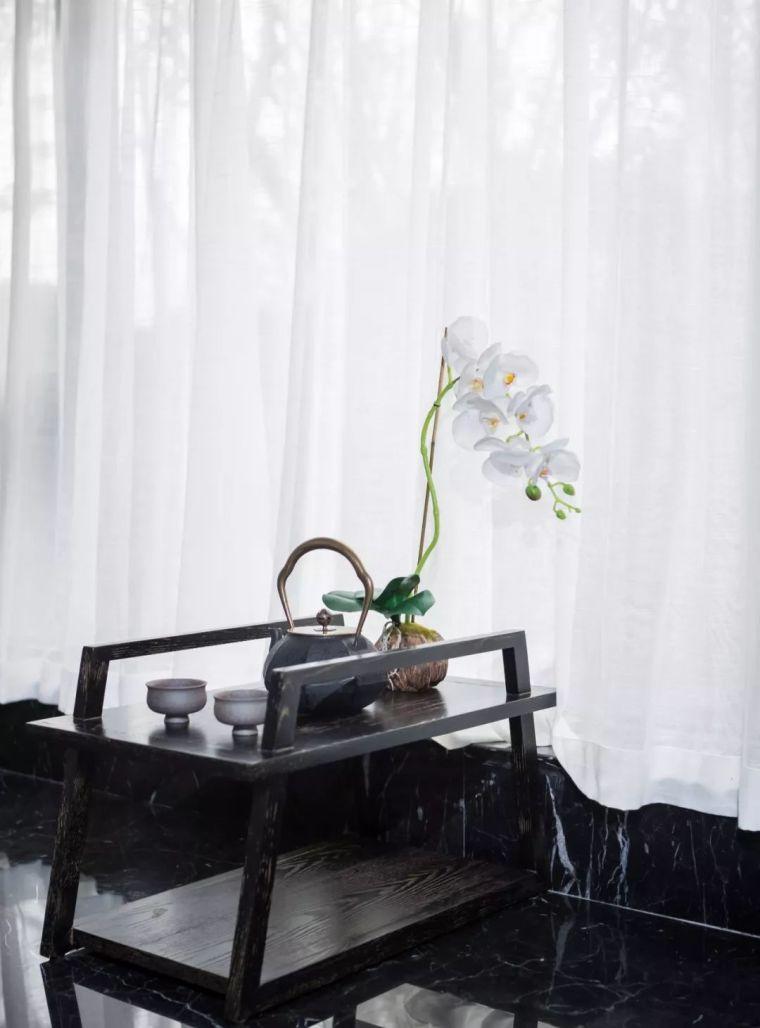 170㎡气质大平层样板房设计,美式与中式的碰撞!_9