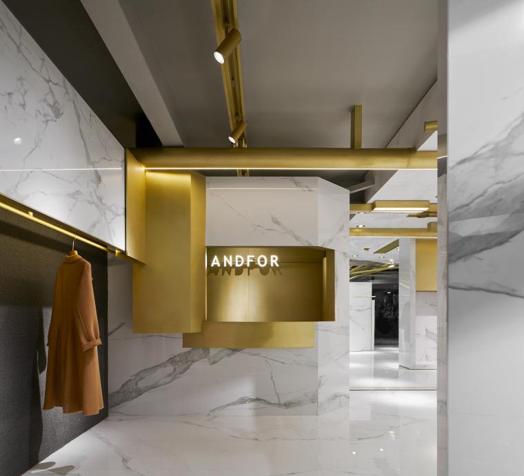 杭州ANDFOR服装品牌展厅-13